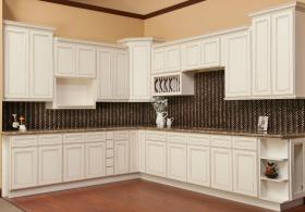 Brantley Antique White RTA Cabinets