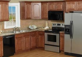 Cathedral Cherry RTA Kitchen Cabinets