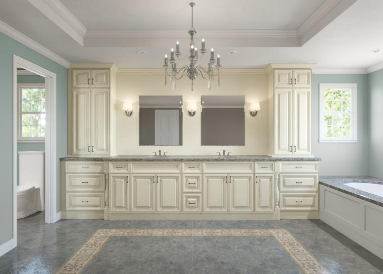 Ready to Assemble Bathroom Vanities & Cabinets - The RTA Store