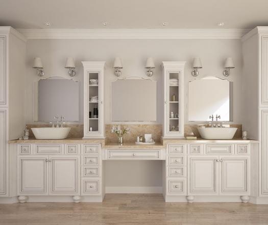 Semi Custom Bathroom Cabinetry