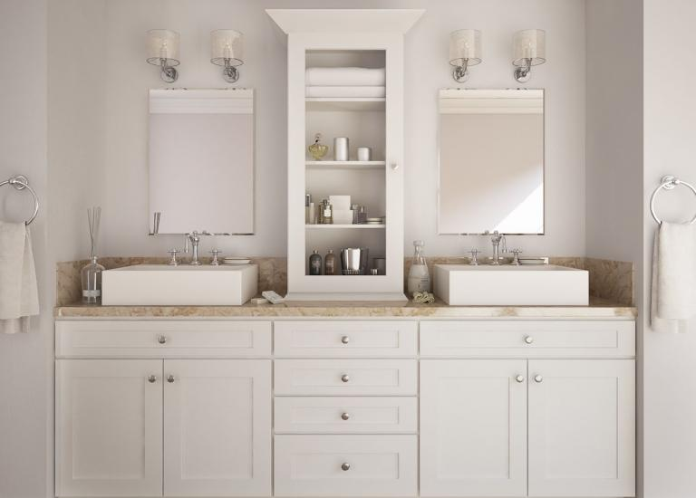 Pre-Assembled Bathroom Vanities & Cabinets - The RTA Store