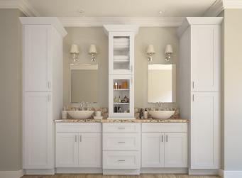 Aspen White Shaker Pre-Assembled Kitchen Cabinets