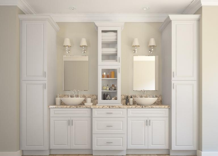 Dakota White Rta Kitchen Cabinets