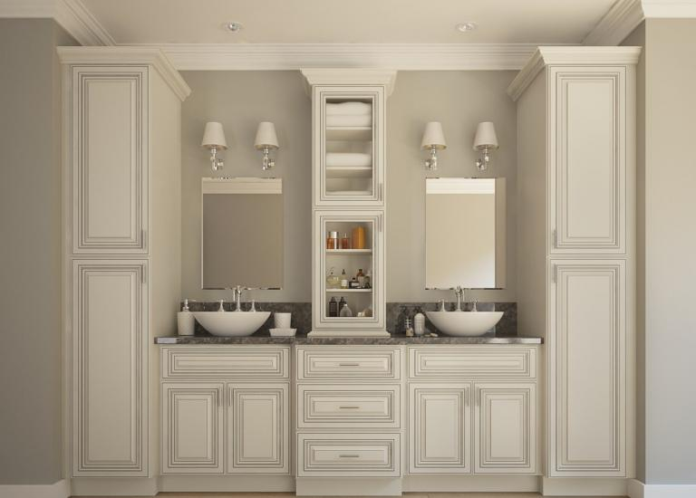 Signature Vanilla Pre-Assembled Kitchen Cabinets