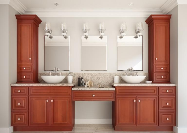 Cafe Mocha Glaze RTA Kitchen Cabinets