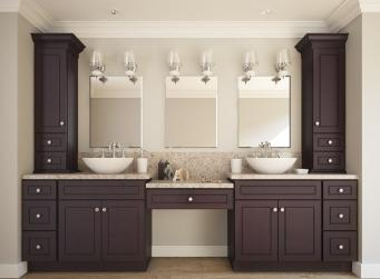 Espresso Bean RTA Kitchen Cabinets