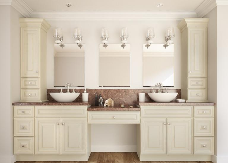 French Vanilla Glaze RTA Kitchen Cabinets