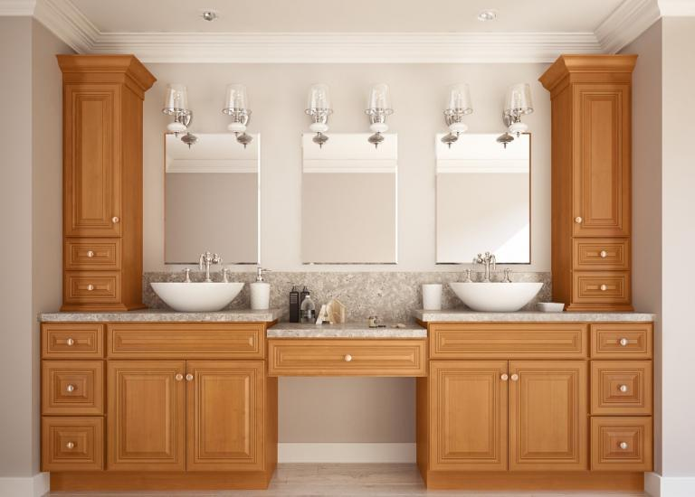 Bathroom Cabinets ready to assemble bathroom vanities - bathroom vanities - all home