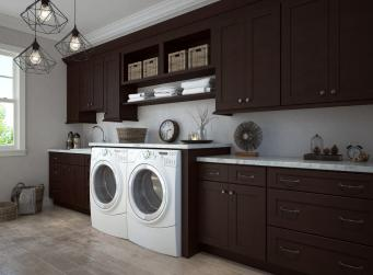 Brazilian Shaker Pre-Assembled Laundry Room Cabinets
