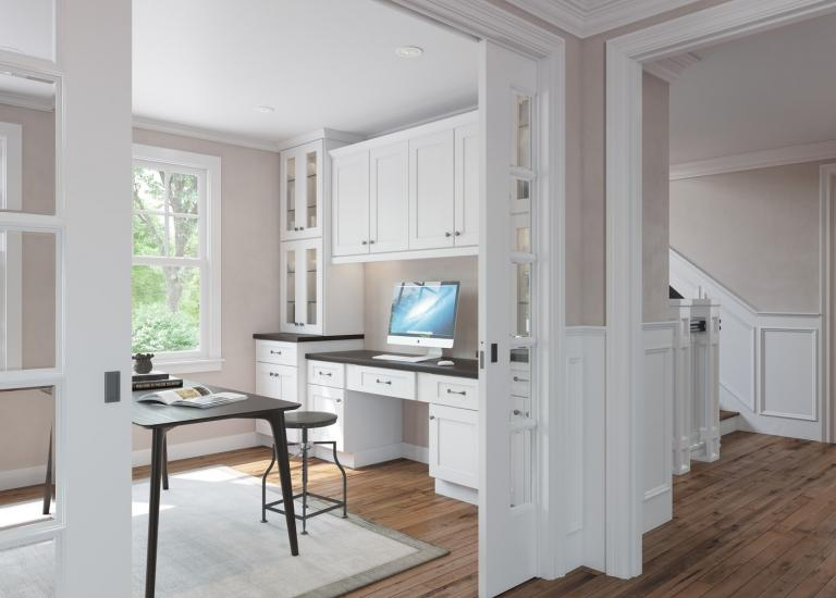 brilliant white shaker rta cabinets