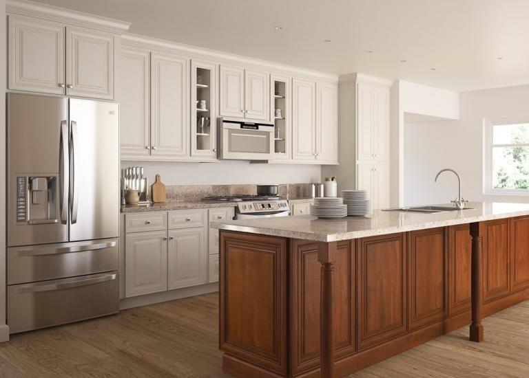 White kitchen cabinets the rta store for Basic kitchen cupboards