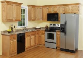Cathedral Oak RTA Kitchen Cabinets