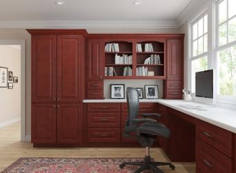 Cayenne Cognac RTA Office Cabinets