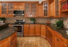 Copper Caramel RTA Kitchen Cabinets