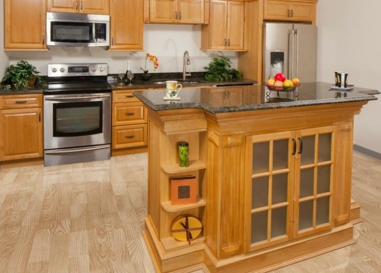 pre assembled kitchen cabinets home depot canada south africa harvest oak the store lowes