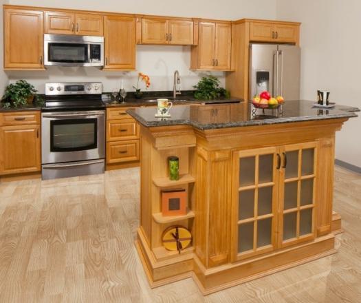 Natural Oak Kitchen Cabinets: Ready To Assemble Kitchen Cabinets