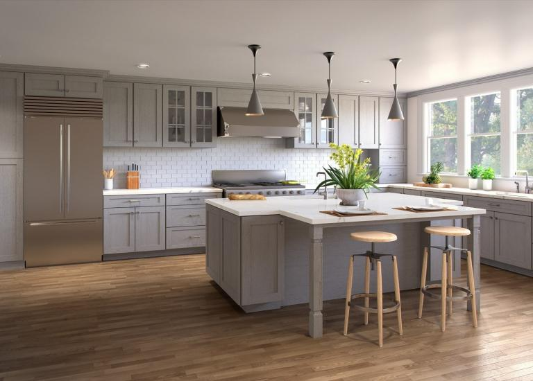PreAssembled Kitchen Cabinets The RTA Store - Where to buy gray kitchen cabinets