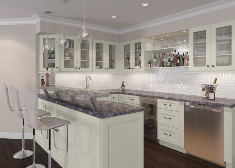 Ready to Assemble Bar Room Cabinets - Bar Cabinets - The RTA ...