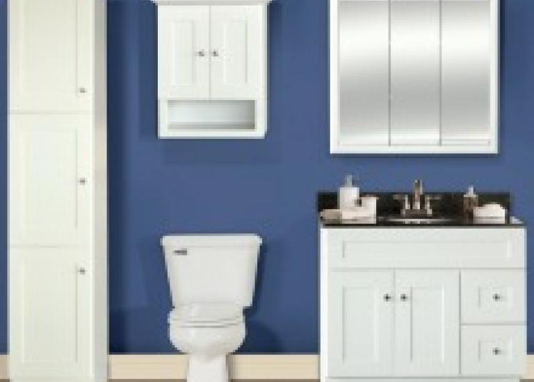Shaker Linen Bathroom Vanities