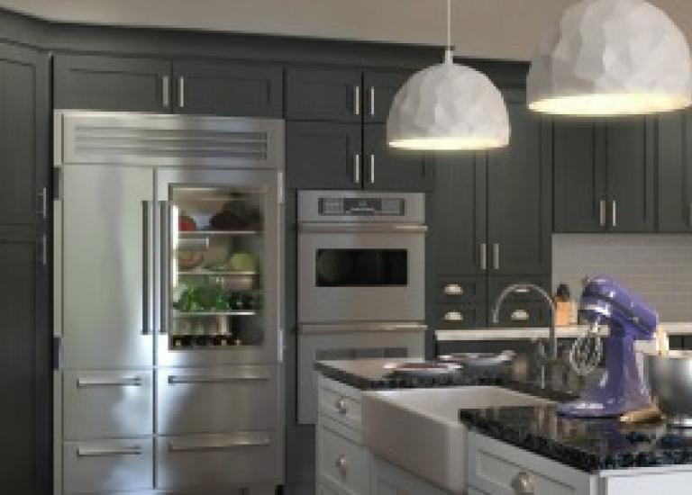 Natural Grey Shaker Pre-Assembled Kitchen Cabinets