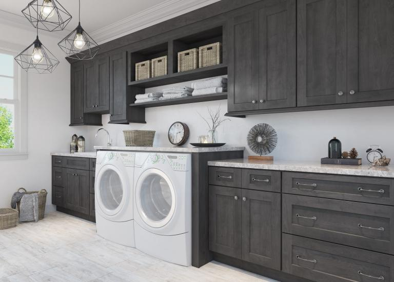 Ready to Assemble laundry room Cabinets - Laundry Room ...