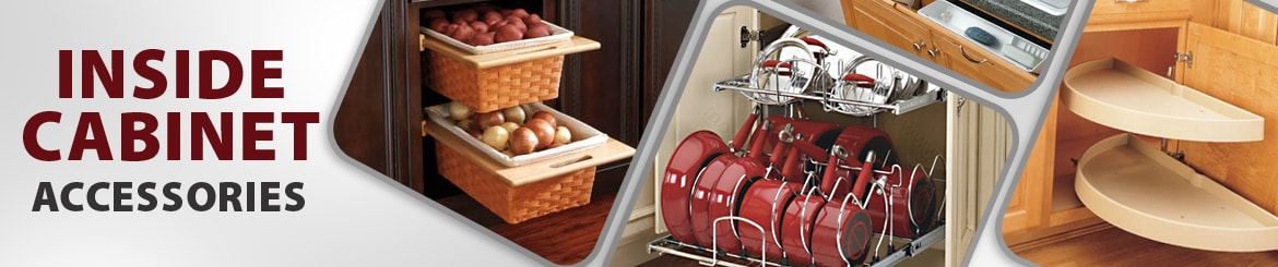 Inside Kitchen Cabinet Accessories - The RTA Store
