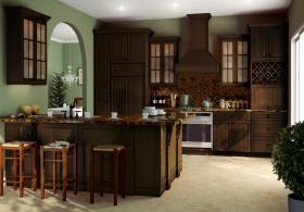 Regency Espresso Pre-Assembled Kitchen Cabinets