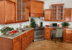 Regency Spiced Glaze RTA Kitchen Cabinets