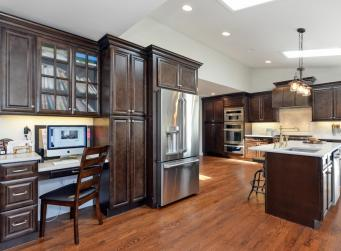 Regency Espresso RTA Kitchen Cabinets