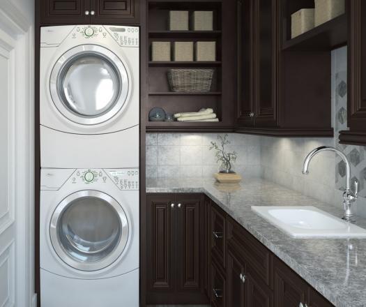 Semi Custom Kitchen Cabinets: Pre-Assembled Laundry Room Cabinets