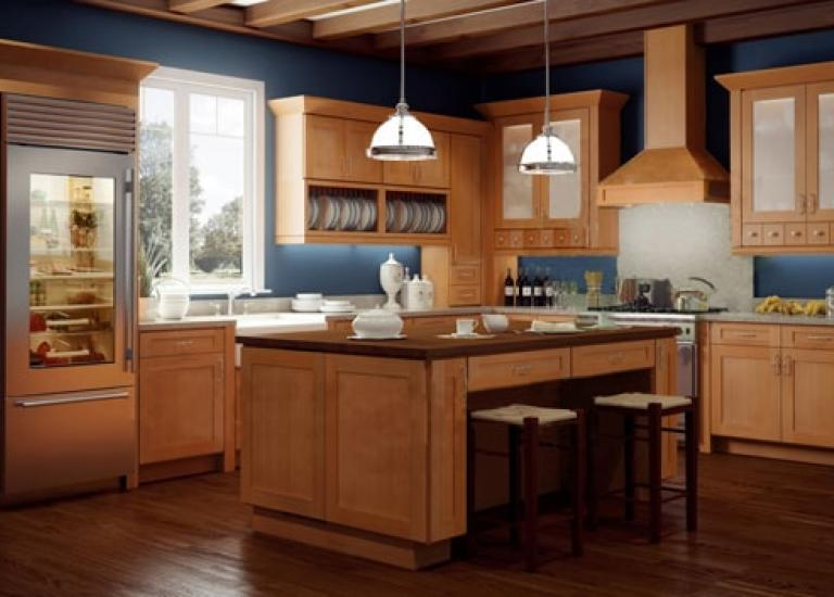 Interior Kitchen Cabinet Rta ready to assemble kitchen cabinets shaker honey rta cabinets