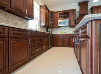 Signature Chocolate RTA Kitchen Cabinets