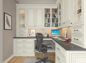 Signature Vanilla Pre-Assembled Office Cabinets