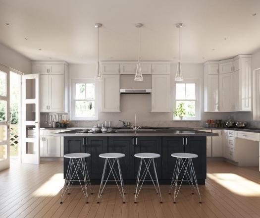 Semi Custom Kitchen Cabinets: Pre-Assembled Kitchen Cabinets