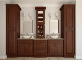 Signature Chocolate Pre-Assembled Kitchen Cabinets