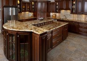 Biscotti Cafe RTA Kitchen Cabinets