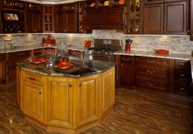 Camden Coffee RTA Kitchen Cabinets