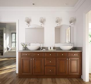 Cambridge Saddle Glaze Ready To Assemble Bathroom Vanities Bathroom Vanities