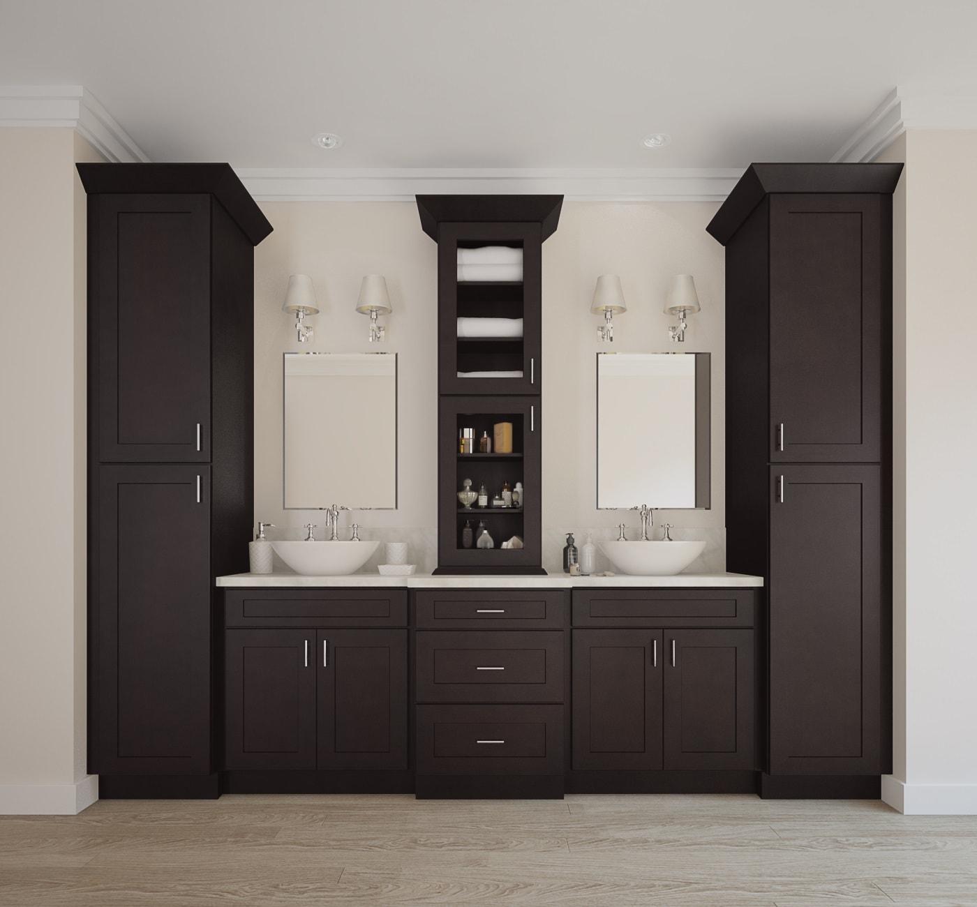 shaker ready to assemble bathroom vanities bathroom vanities