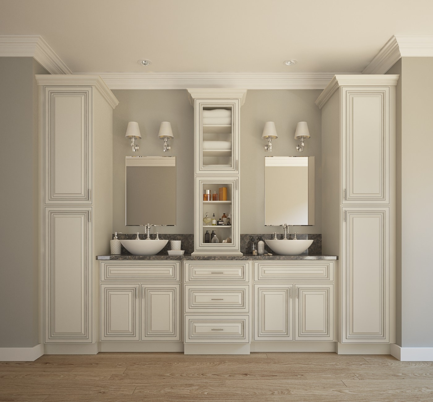 Pre-Assembled Bathroom Vanities