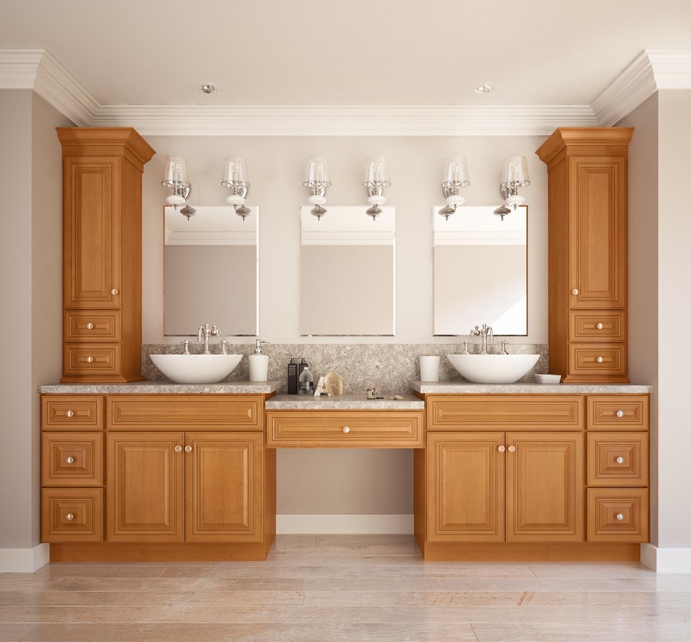 toffee ready to assemble bathroom vanities bathroom vanities