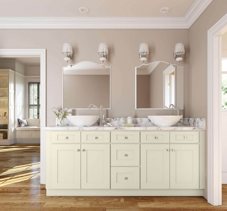 Linen Shaker Ready To Assemble Bathroom Vanities