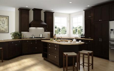 Brazilian Shaker Pre Assembled Kitchen Cabinets The RTA Store