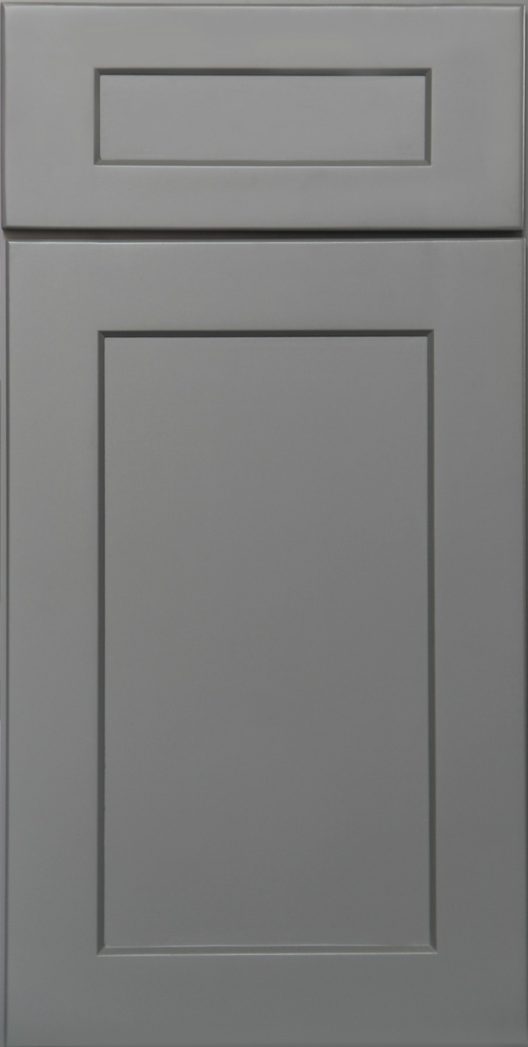 Grey shaker ready to assemble kitchen cabinets kitchen cabinets - Kitchen door ...