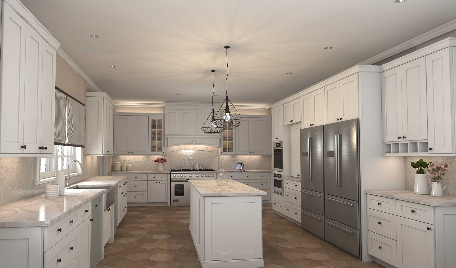 Ready to assemble kitchen cabinets kitchen cabinets modena white shaker solutioingenieria Choice Image