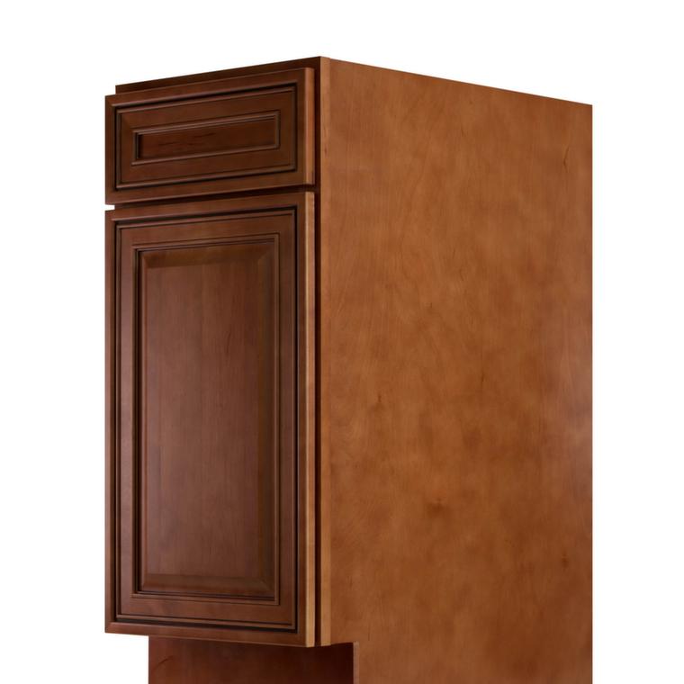 Cafe mocha glaze ready to assemble kitchen cabinets for Assembling kitchen cabinets