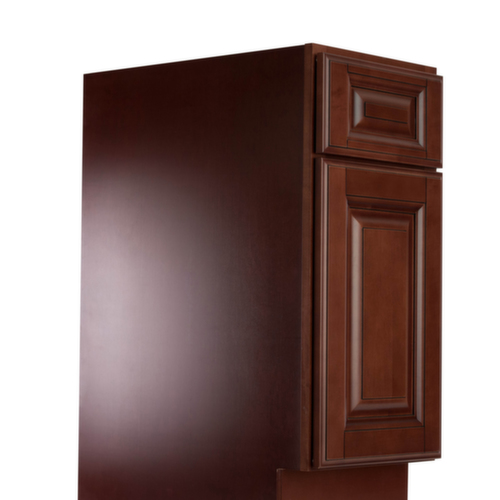 Sonoma merlot pre assembled kitchen cabinets kitchen for Pre assembled cupboards