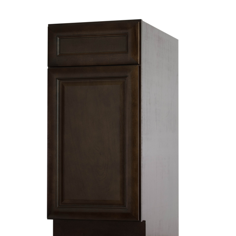 Regency espresso pre assembled kitchen cabinets the rta for Pre assembled cupboards