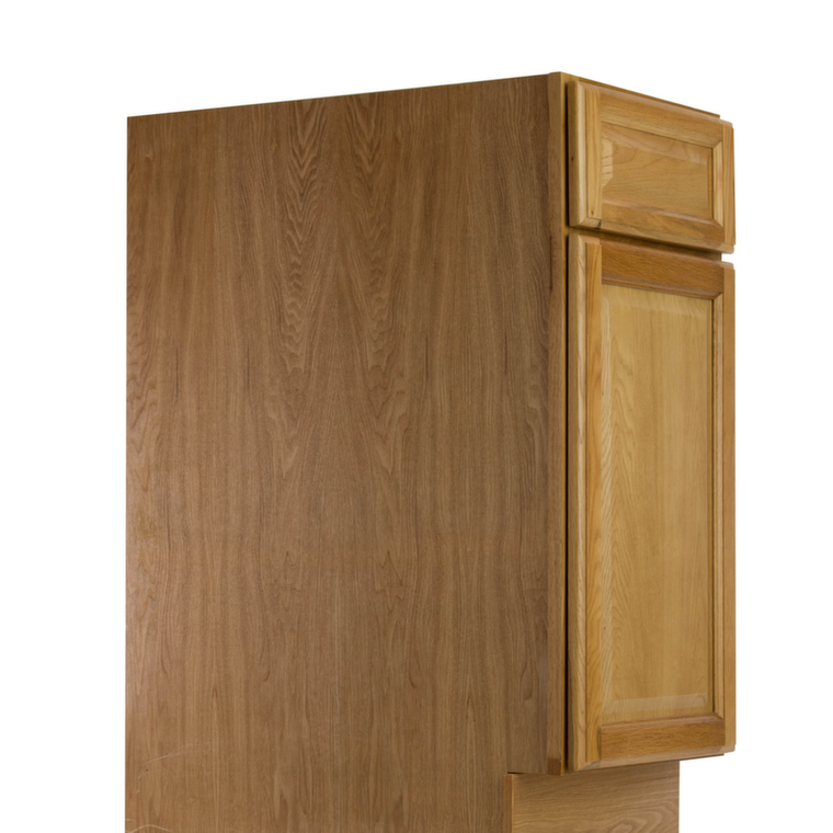 Harvest oak pre assembled kitchen cabinets the rta store for Pre assembled kitchen units