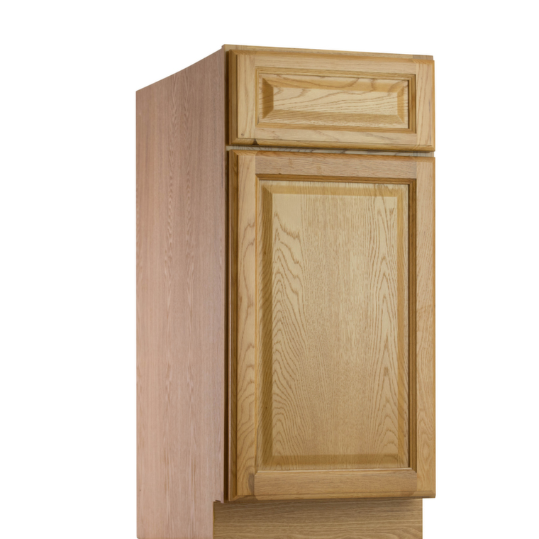 Harvest oak pre assembled kitchen cabinets for Assembled kitchen cabinets